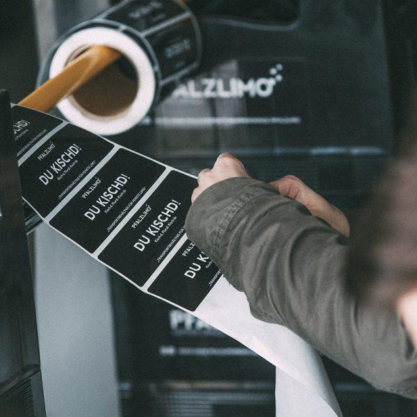 Pfalzlimo-Etiketten